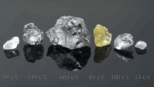 Diamond Rough and Loose Polished Diamonds